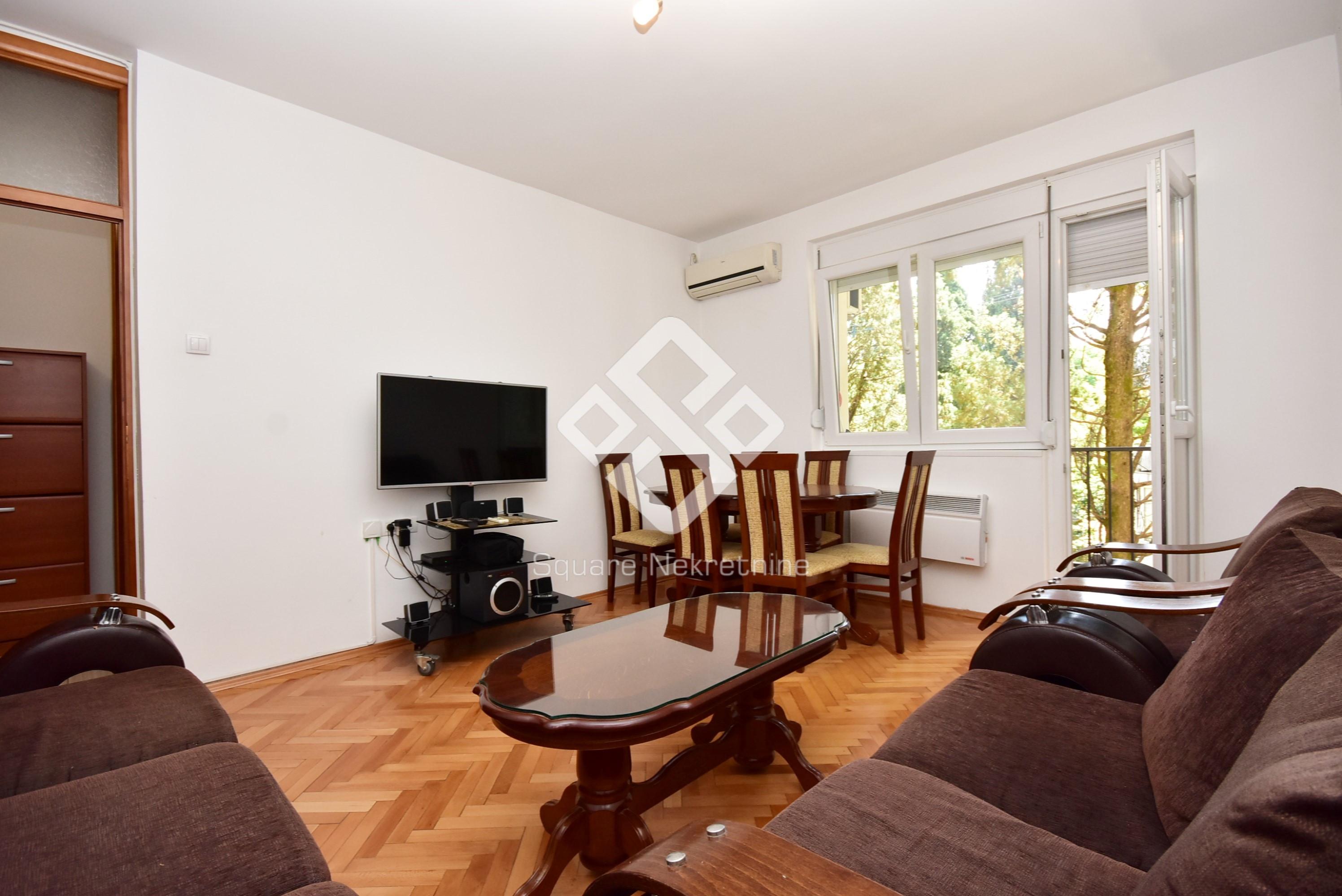 Dvosoban stan 62m2, namjesten, Preko Morace