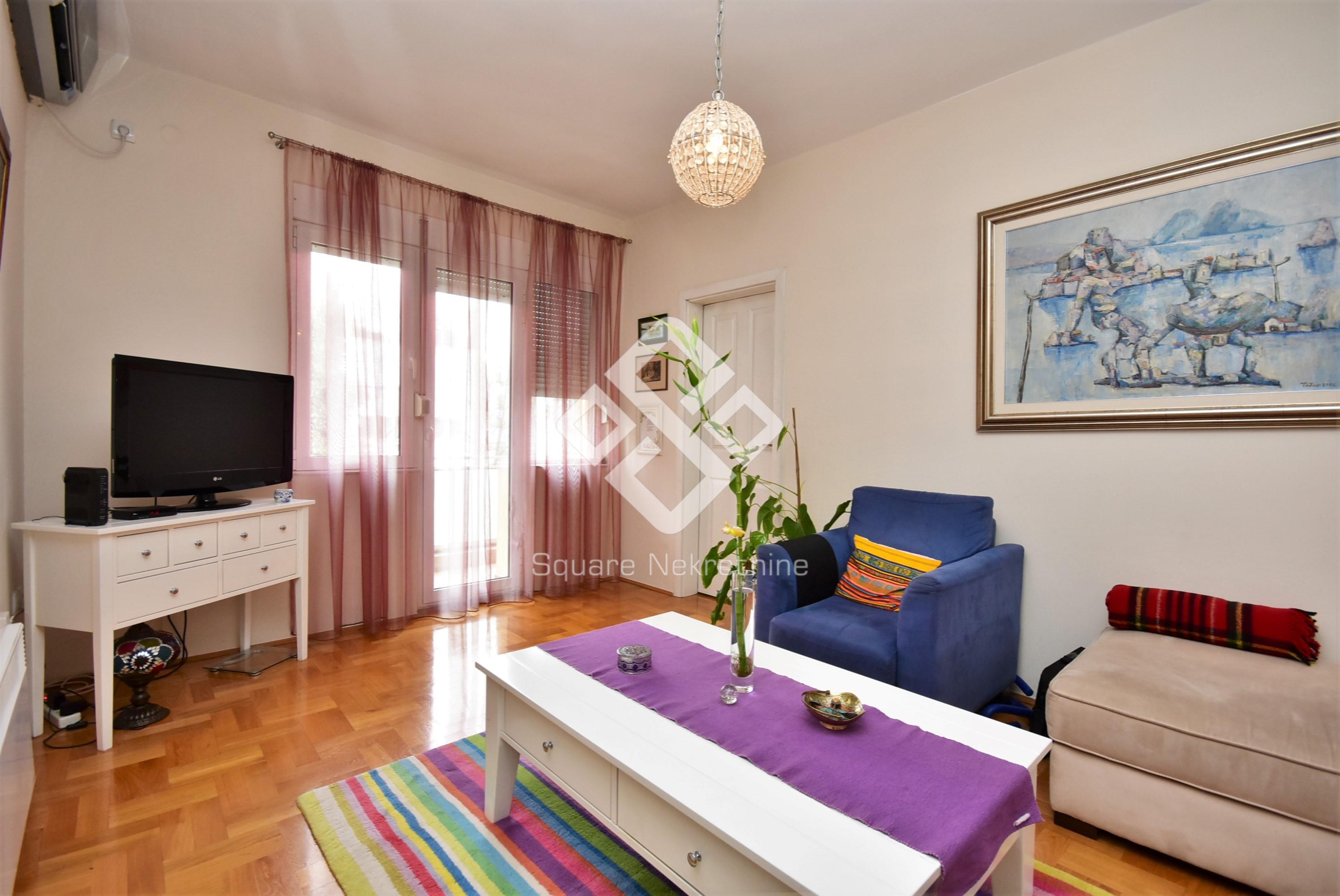 Jednosoban stan 59m2, renoviran, Preko Morace