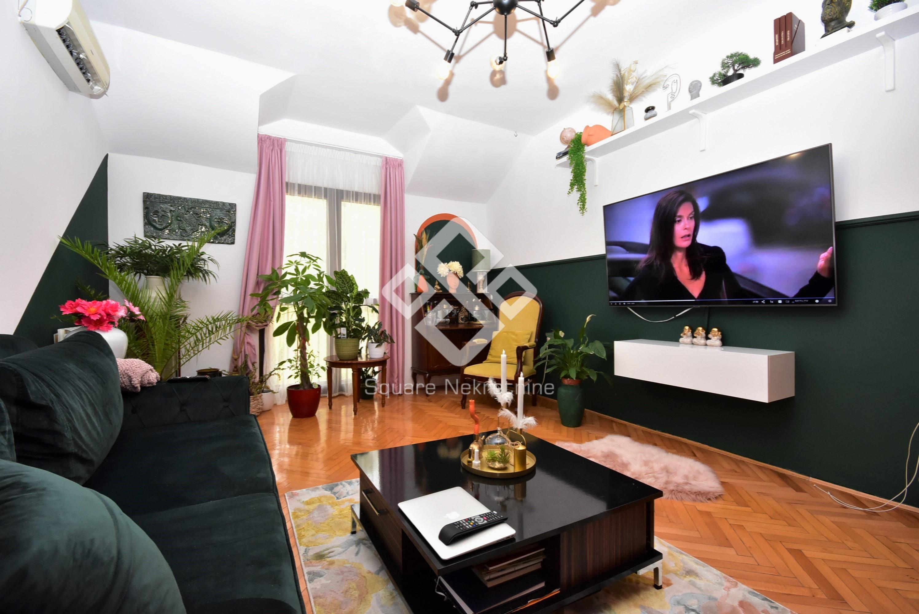 Trosoban duplex 145m2, namjesten, Gorica C